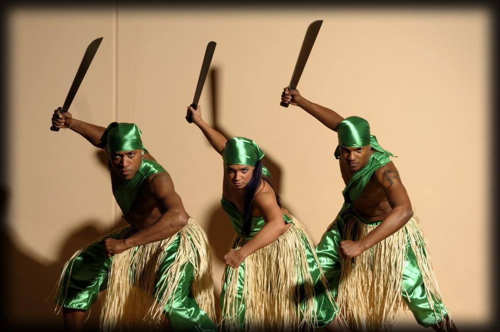 Maikel beim Afro Tanz
