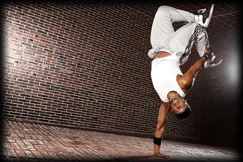 Maikel tanzt Hip Hop