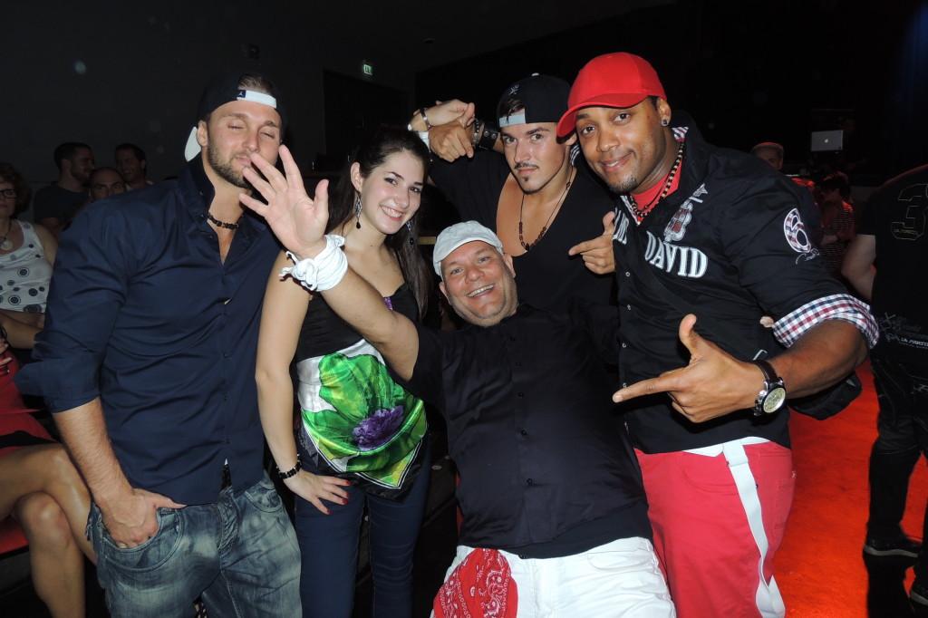 Lateinamerikanische Tänzer in Karlsruhe