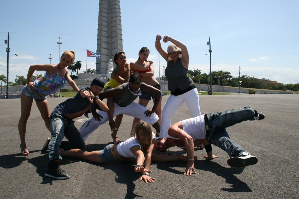 Salsa Tanzteam in Cuba