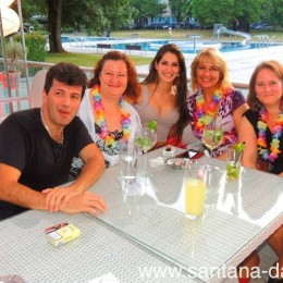 Sommerparty im Aquamarin