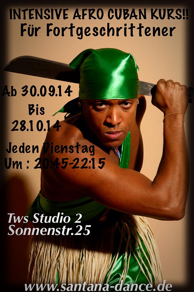 Maikel Santana Afro Tanz