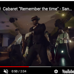 """Cabaret """"Remember the time"""""""